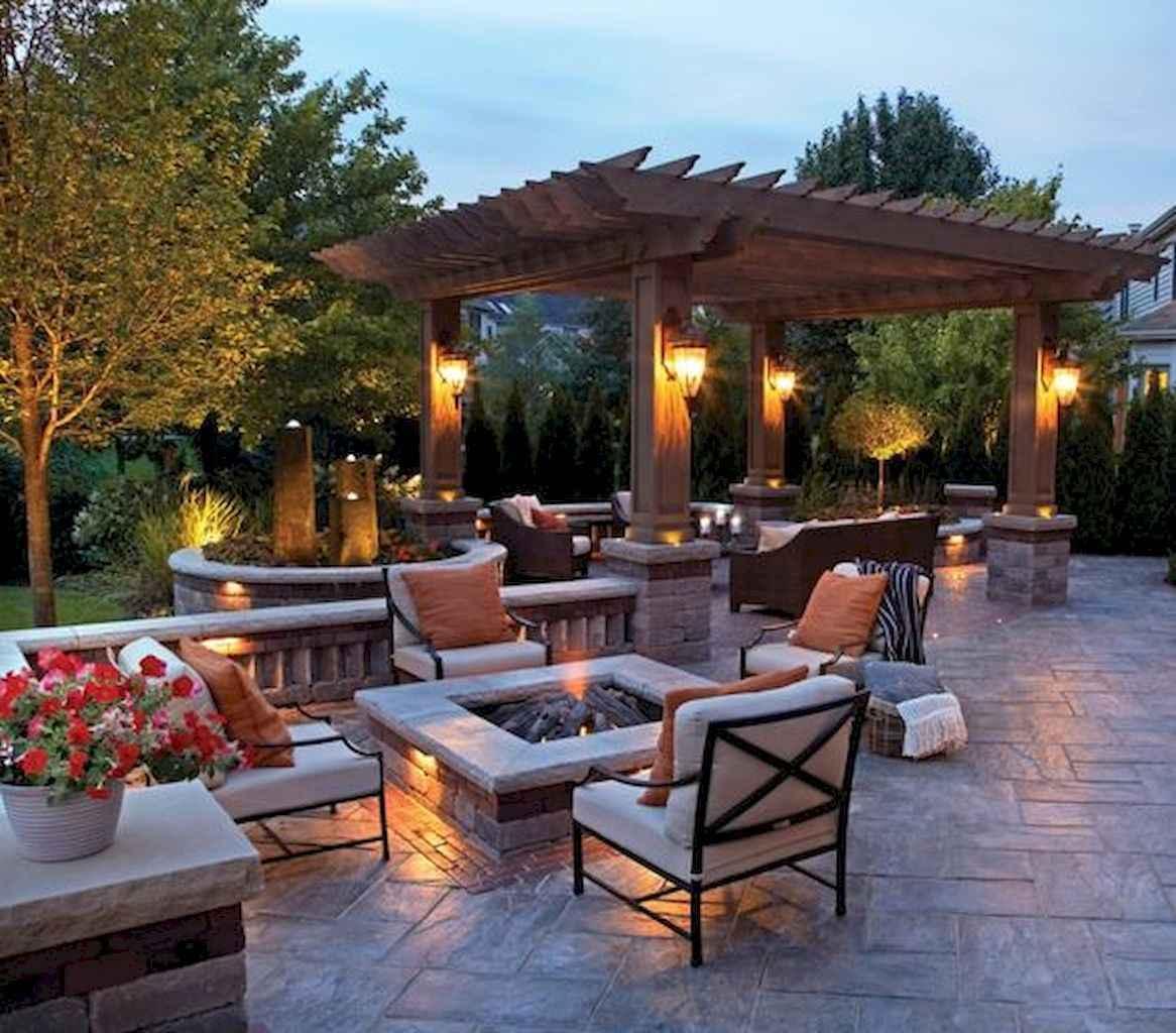 55 Beautiful Backyard Lighting Decor Ideas and Remodel (6)