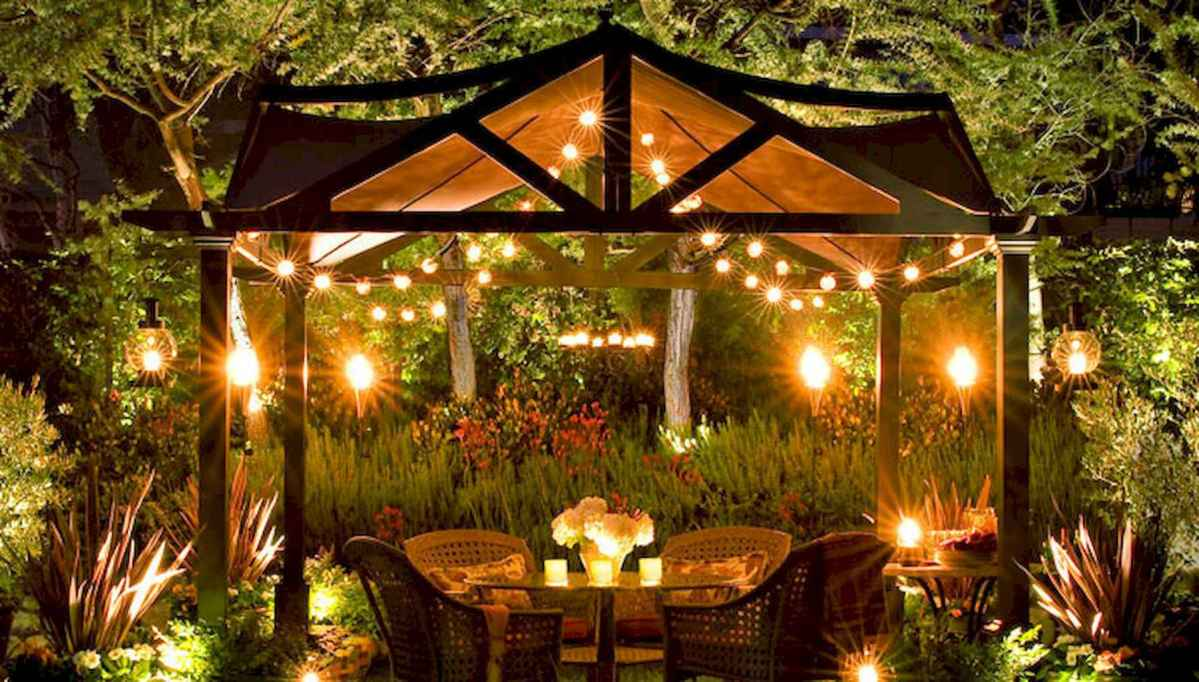 55 Beautiful Backyard Lighting Decor Ideas and Remodel (9)