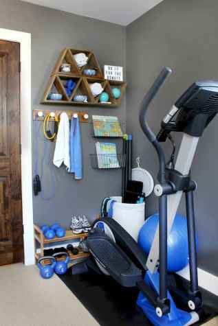 60 Cool Home Gym Ideas Decoration on a Budget for Small Room (19)