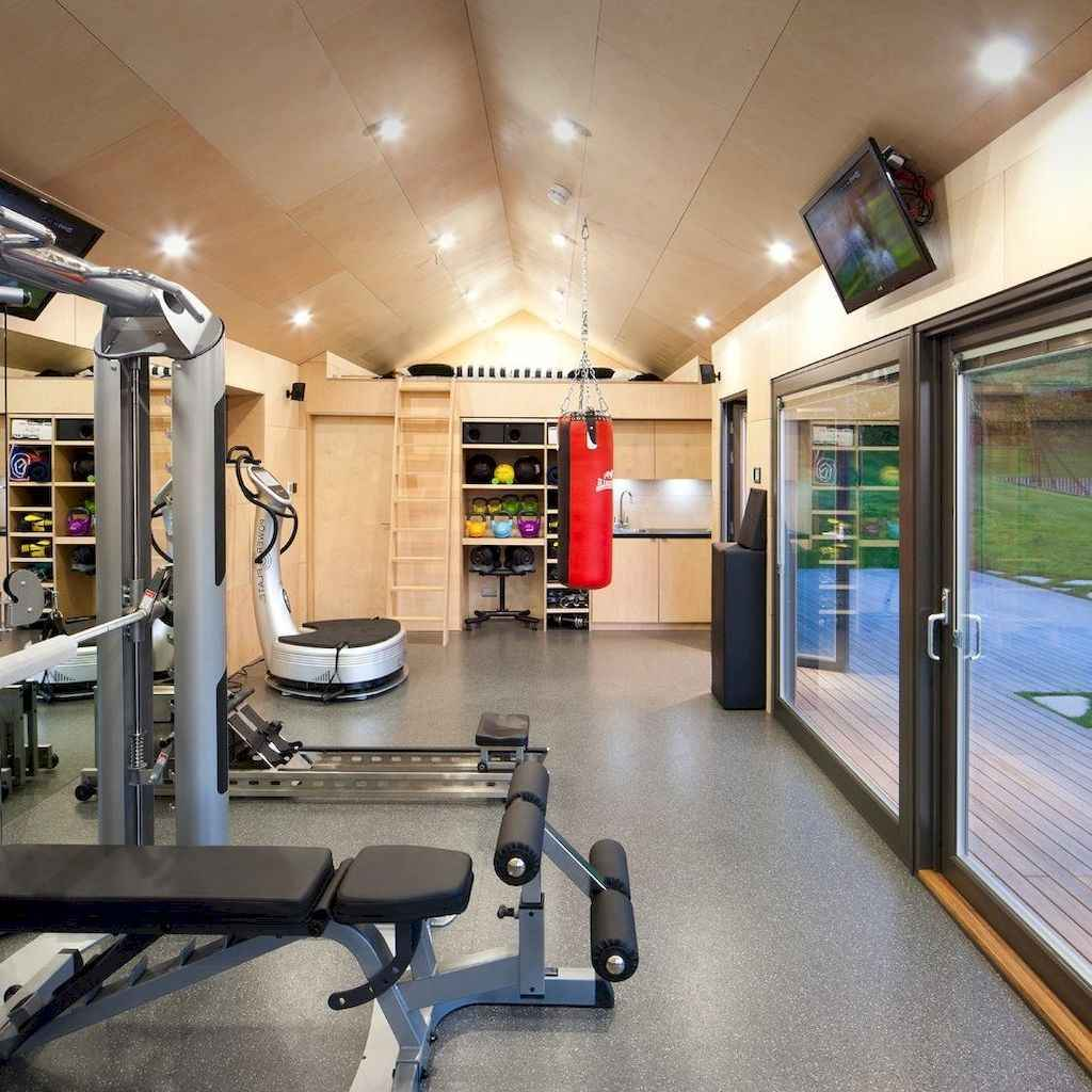 60 cool home gym ideas decoration on a budget for small room 33