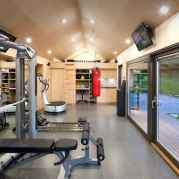 60 Cool Home Gym Ideas Decoration on a Budget for Small Room (33)