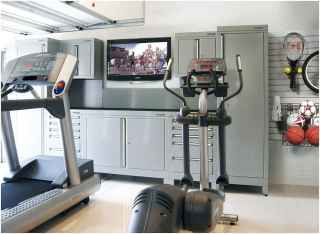 60 Cool Home Gym Ideas Decoration on a Budget for Small Room (36)