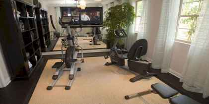 60 Cool Home Gym Ideas Decoration on a Budget for Small Room (45)