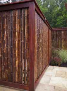 70 Gorgeous Backyard Privacy Fence Decor Ideas on A Budget (24)