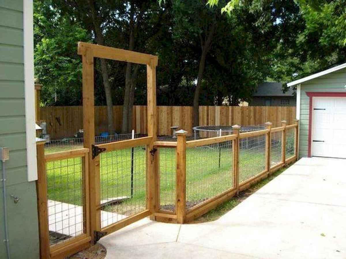 70 Gorgeous Backyard Privacy Fence Decor Ideas on A Budget (40)