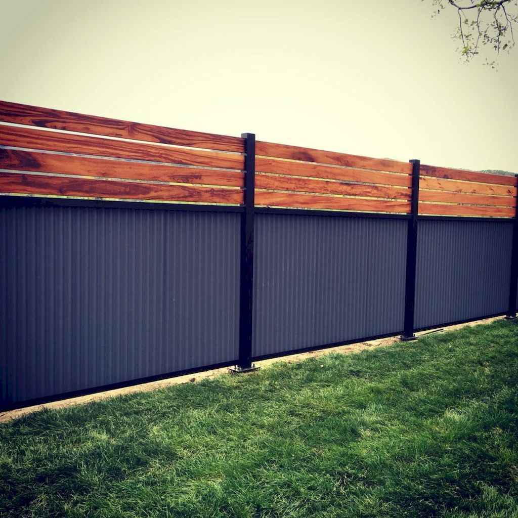 70 Gorgeous Backyard Privacy Fence Decor Ideas on A Budget (65)