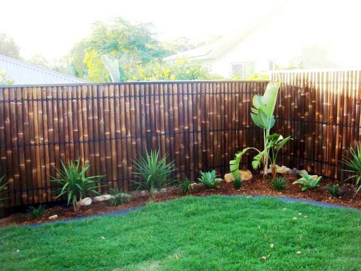 70 Gorgeous Backyard Privacy Fence Decor Ideas on A Budget (71)