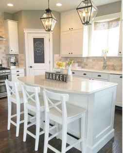80 Modern Farmhouse Kitchen Lighting Decor Ideas and Remodel (13)