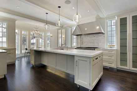 80 Modern Farmhouse Kitchen Lighting Decor Ideas and Remodel (22)