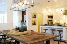 80 Modern Farmhouse Kitchen Lighting Decor Ideas and Remodel (29)
