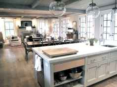80 Modern Farmhouse Kitchen Lighting Decor Ideas and Remodel (3)
