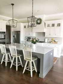 80 Modern Farmhouse Kitchen Lighting Decor Ideas and Remodel (52)