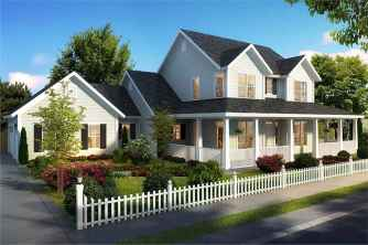 90 Awesome Modern Farmhouse Plans Design Ideas and Remodel (54)