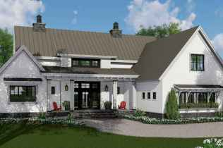 90 Awesome Modern Farmhouse Plans Design Ideas and Remodel (76)