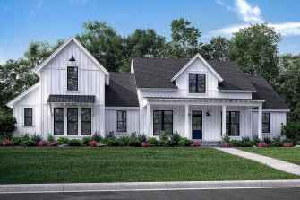 90 Awesome Modern Farmhouse Plans Design Ideas and Remodel (86)