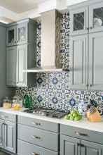 100 Stunning Kitchen Backsplash Decorating Ideas and Remodel (7)