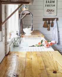 70 Pretty Kitchen Sink Decor Ideas and Remodel (15)