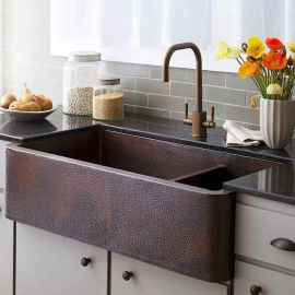 70 Pretty Kitchen Sink Decor Ideas and Remodel (6)