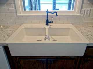 70 Pretty Kitchen Sink Decor Ideas and Remodel (67)