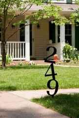 Best 90 Number Sign Home Design Ideas on A Budget (54)