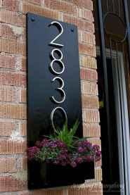 Best 90 Number Sign Home Design Ideas on A Budget (60)