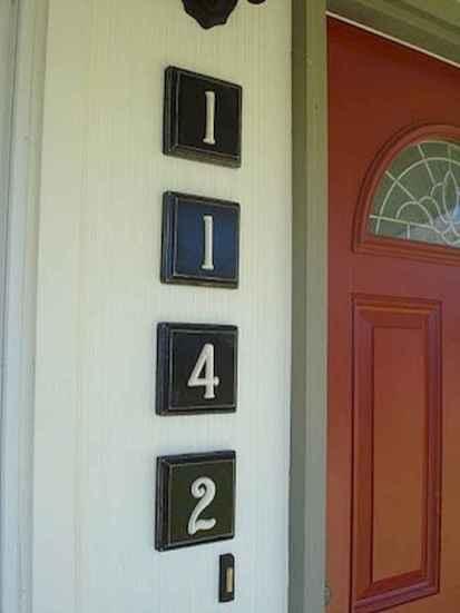 Best 90 Number Sign Home Design Ideas on A Budget (61)