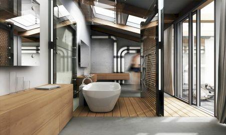 100 Farmhouse Bathroom Tile Shower Decor Ideas And Remodel To Inspiring Your Bathroom (1)