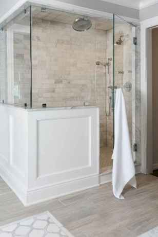 100 Farmhouse Bathroom Tile Shower Decor Ideas And Remodel To Inspiring Your Bathroom (3)