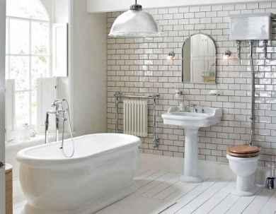 100 Farmhouse Bathroom Tile Shower Decor Ideas And Remodel To Inspiring Your Bathroom (5)