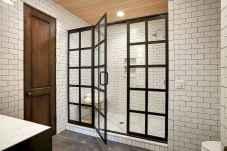 100 Farmhouse Bathroom Tile Shower Decor Ideas And Remodel To Inspiring Your Bathroom (62)