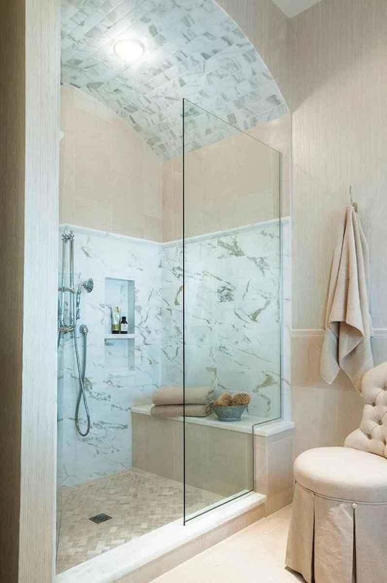 100 Farmhouse Bathroom Tile Shower Decor Ideas And Remodel To Inspiring Your Bathroom (72)