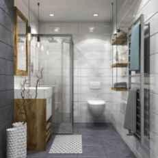 120 Modern Farmhouse Bathroom Design Ideas And Remodel (24)