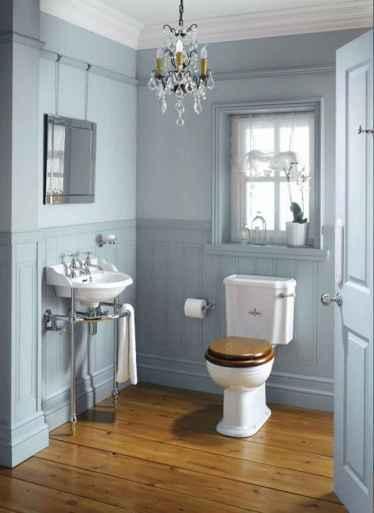 120 Modern Farmhouse Bathroom Design Ideas And Remodel (47)