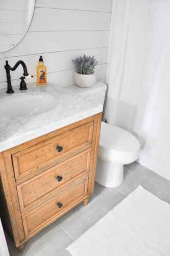 120 Modern Farmhouse Bathroom Design Ideas And Remodel (68)
