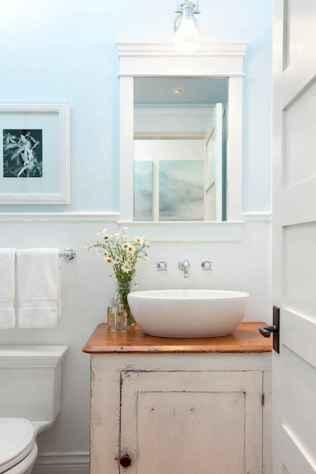 150 Amazing Small Farmhouse Bathroom Decor Ideas And Remoddel (37)