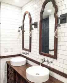 150 Amazing Small Farmhouse Bathroom Decor Ideas And Remoddel (52)