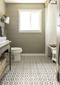150 Awesome Farmhouse Bathroom Tile Floor Decor Ideas And Remodel To Inspire Your Bathroom (52)