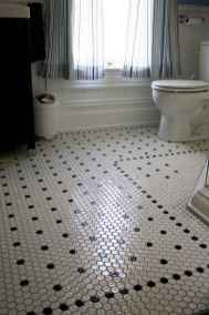 150 Awesome Farmhouse Bathroom Tile Floor Decor Ideas And Remodel To Inspire Your Bathroom (91)