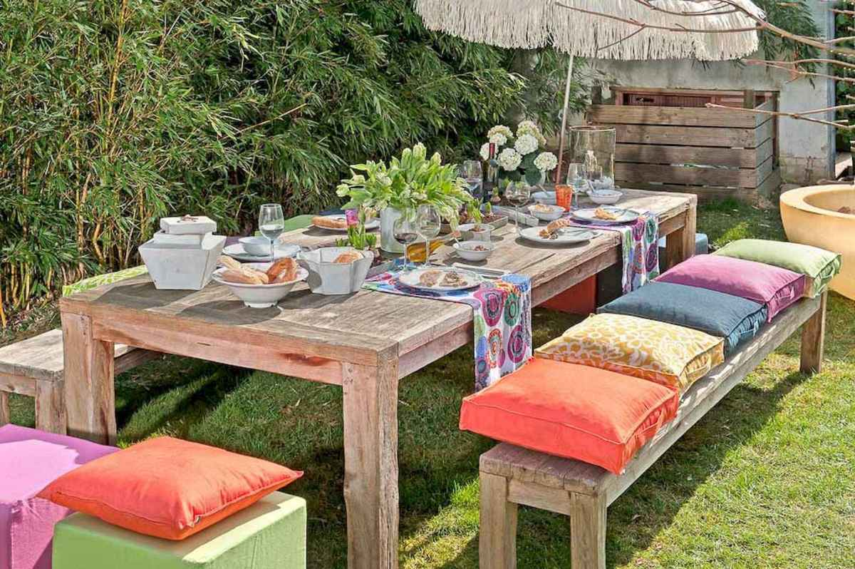 50 Awesome Summer Backyard Decor Ideas Make Your Summer Beautiful (20)