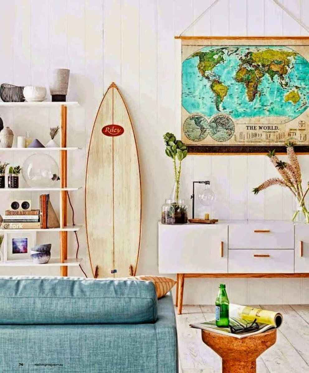 50 Beautiful Summer Apartment Decor Ideas And Makeover (3)
