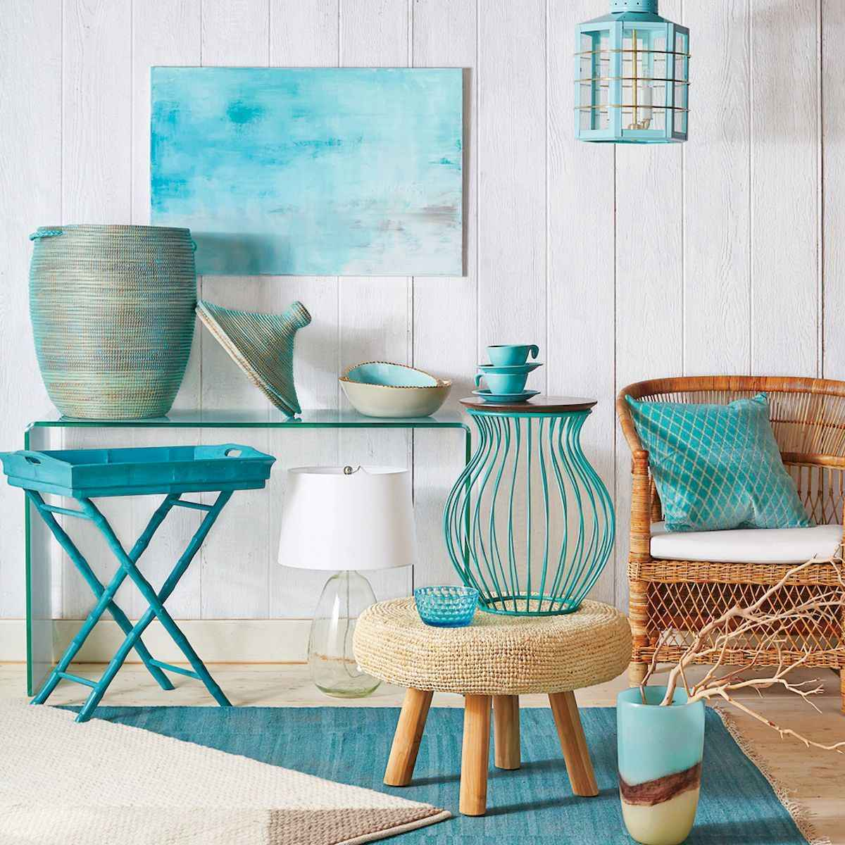 50 Beautiful Summer Apartment Decor Ideas And Makeover (7)