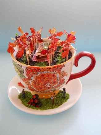 50 DIY Summer Garden Teacup Fairy Garden Ideas (10)