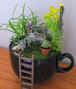 50 DIY Summer Garden Teacup Fairy Garden Ideas (21)