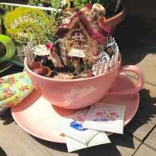 50 DIY Summer Garden Teacup Fairy Garden Ideas (38)