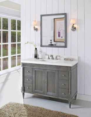 50 Lighting For Farmhouse Bathroom Ideas Decorating And Remodel (14)