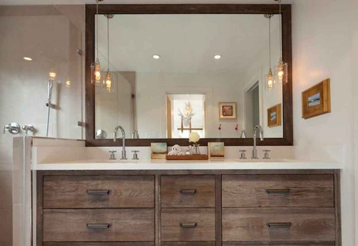 50 Lighting For Farmhouse Bathroom Ideas Decorating And Remodel (15)