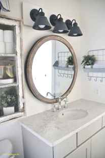 50 Lighting For Farmhouse Bathroom Ideas Decorating And Remodel (27)