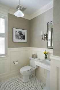 50 Lighting For Farmhouse Bathroom Ideas Decorating And Remodel (32)