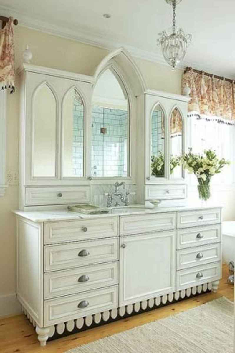 50 Lighting For Farmhouse Bathroom Ideas Decorating And Remodel (33)