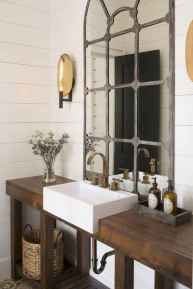 50 Lighting For Farmhouse Bathroom Ideas Decorating And Remodel (44)